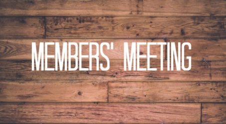 First Annual Member Meeting